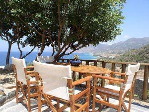 Ferienhäuser im Fischerdorf Mochlos auf Kreta