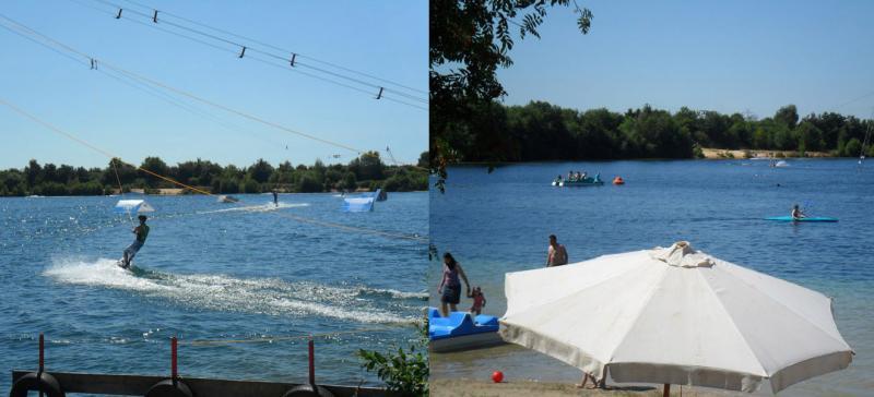 Ferienhaus bungalow mit 55 m f r max 6 personen pool for Ovaler pool zum aufstellen