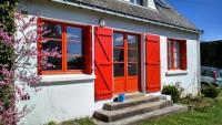 Fischerhaus in Meernähe in ruhigem typisch bretonischen Dorf