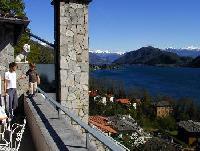 Ferienwohnung am Luganer See Terrassenwohnung mit Traumblick zwischen Ponte Tresa und Porto Ceresio