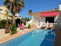 Ferienhaus Casa Cochise mit schönem Palmengarten, sonniger Terrasse und guter Ausstattung
