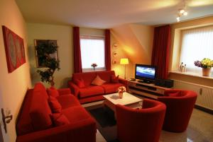 Wohnraum Ferienwohnung 3 mit Schlafsofa
