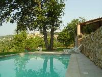 Schickes Ferienhaus mit Pool und überwältigendem Panoramablick auf großem Grundstück in Frankreich!