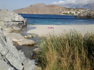 Amoudi beach 10 min. from the house
