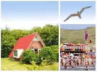 Ferienhaus 'Moby' ca 3 km nordlich von Callantsoog im Bungalowpark 'Sandepark' in Groote Keeten.