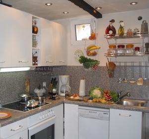 Zweite sehr gut ausgestattete Küche