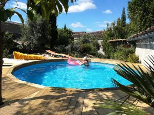 Pool zum Schwimmen/Planschen Gemeinschaftsgarten