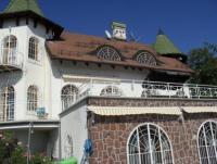 Schloss Johannesburg Pool Terrasse 6000 qm Anwesen- atemberaubender Blick auf den Plattensee Ungarn