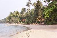 Ferienhaus am Palmenstrand von Koh Samui in Thailand