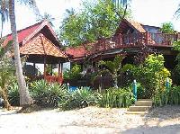 Koh Samui: Strandvilla für bis zu sechs Personen, erste Reihe Sandstrand, Jacuzzi, Swimming-Pool