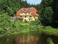 Ferienwohnung mit großer Terrasse in Seewald-Morgental  auf 2 ha Wiesengrund, mitten im Wald.