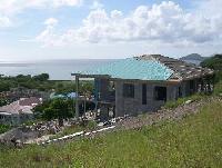TooMuchNice-Villa. Ferienhaus Jones Estate mit Pool und herrlichem Ausblick auf Nevis in der Karibik
