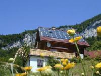 Holzblockhaus mit Komfort in Bad Goisern, Oberösterreich. Ferienhaus im Salzkammergut zu vermieten