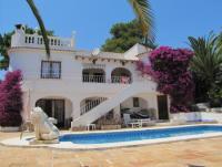 Ferienhaus mit grossem Pool und Garten in Moraira an der Costa Blanca zu vermieten!