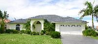 Villa mit Pool in bester Lage  im Südwesten von Cape Coral, deutsches TV, Internet DSL WLAN