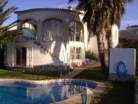Ferienhaus mit Pool bei Oliva an der Costa del Azahar, nah an der Oliva-Nova Golfanlage und Strand