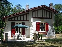 Gemütliches Ferienhaus an der Côte d'Argent nahe der Ortschaft Lue in Südwest-Frankreich, Aquitaine