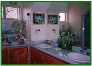 Bathroom in the guest studio