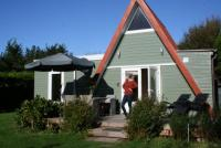 Ein Ferienhaus für 4 Personen in Nord-Holland, Groote Keeten, auf einem 360 qm umzäunten Grundstück.