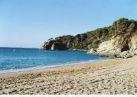 Ferienhaus bei Tossa de Mar an der Costa Brava in Santa Maria de Llorell mit Meerblick zu vermieten.