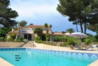 Traumhafte Villa mit Meerblick für 4 Personen inmitten parkähnlicher, gepflegter Grünanlagen