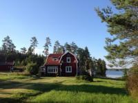 Ferienhaus in Vissefjärda bei Emmaboda, Südschweden, im Glasreich Smaland. direkt am See