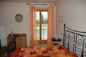 Schlafzimmer Apartment Charlotte