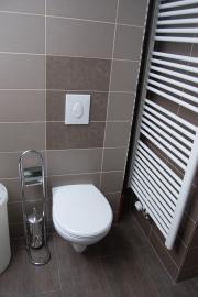 Fewo 2 : modernes Bad mit Dusche zum Wohlfühlen