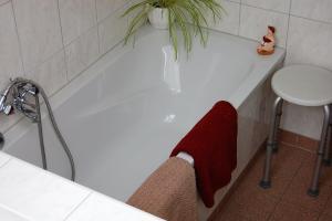 Fewo 1 : Bad mit Wanne und Dusche