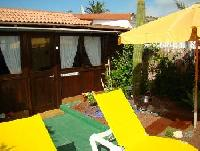 For rent: Vacation home in Corralejo/Fuerteventura, Spain with small private garden and terrace!