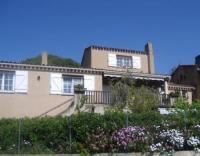 Ferienhaus auf Korsika direkt am Meer am Golf de Lava nahe Ajaccio mit 2 Ferienwohnungen, Sandstrand