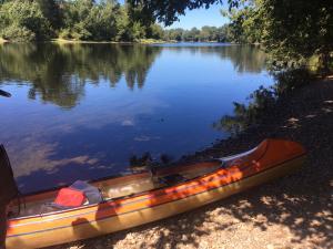 Das Abenteuer mit dem Kanu kann beginnen
