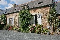 Bauernhof mit 2 Natursteinhäusern (Longiére) in Bringolo zw. Saint-Bieuc u. Paimpol nahe Goudelin