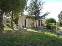 Ferienhaus Mazet im Languedoc-Roussillon ist für 2-3 Personen gedacht , bietet Sonne und Schatten