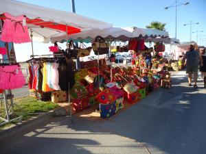 Markt von St. Pierre la mer