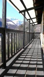 Balcony with panoramic view