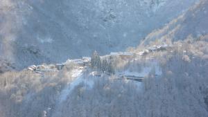 View of the neighboring village Crealla