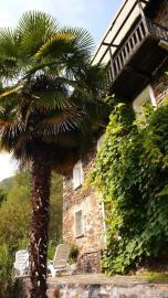 Sunny south facing terrace Casa Falmenta