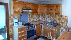 Work area kitchen Casa Falmenta