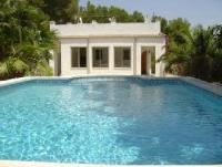 Ferienhaus mit Pool und Garage in der Urb. Las Tres Calas, L´Ametlla de Mar, Costa Dorada