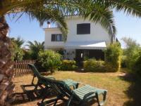 Ferienhäuser in Spanien an der Costa Brava, Terrasse, Garten, bis zu 5 Gäste; La Escala, Sant Marti