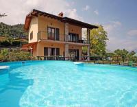 Ferienhaus am Gardasee in Tremosine - Voltino mit Swimming Pool u. Garten, See- und Panoaramablick.