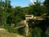 Ferienhaus 'Paradiso' in der Toskana bei Greve in Chianti am Wasserfall, von der Natur eingebettet
