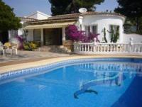 Wundersch�ne Villa mit gro�em Pool und Meerblick, fu�l�ufig zum Strand in Moraira