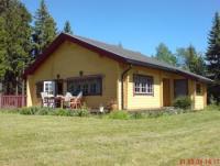 Ferienhaus Holmen für 5 Personen - Blockbohlenhaus mit Sauna