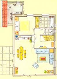 Erdgeschoss, Wohnbereich