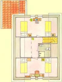 1. Etage, Schlafzimmer