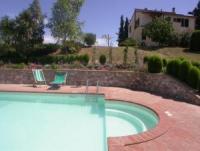 Stilvolle Ferienwohnung fuer 2 bis 5 Personen zwischen Volterra und S. Gimignano in der Toskana