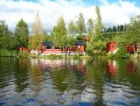 Schönes Ferienhaus Juniängen direkt am See in Bergslagen mit Sauna, WLAN, Kanu und Boot für 9 Pers.!