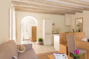 Wohnzimmer und Küche Casa Piccola